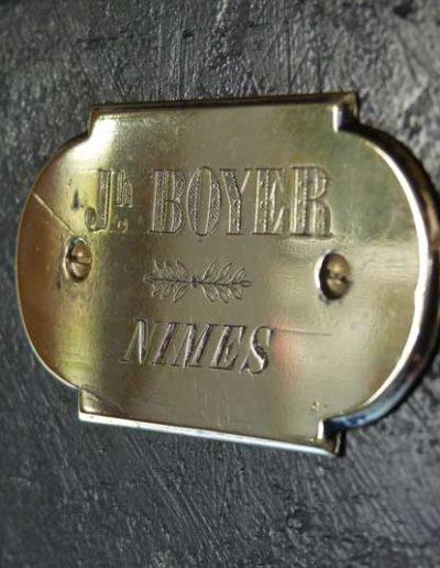 Coffre fort ancien Boyer restauré