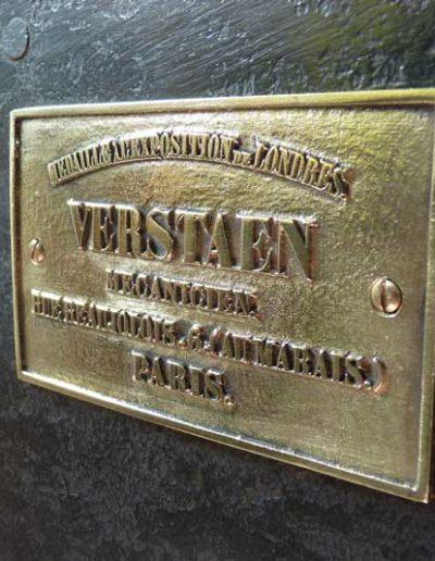 Coffre fort ancien Verstaen restauré