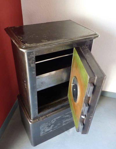 Coffre fort haffner tout métal restauré