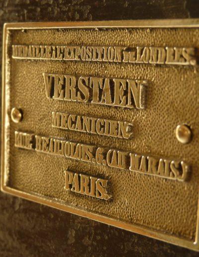 Coffre fort Verstaen 1865 restauré